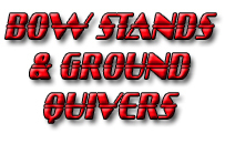 Bow Stands & Ground Quivers