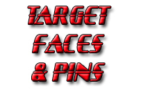 Target Faces & Pins