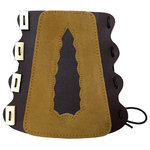 Decorative Centre Suede Armguard